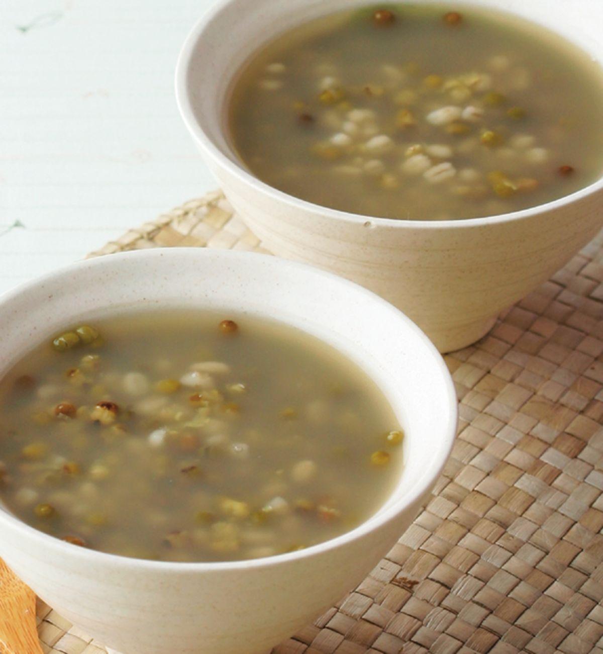 食譜:綠豆薏仁湯