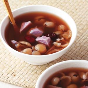 紫山藥桂圓甜湯