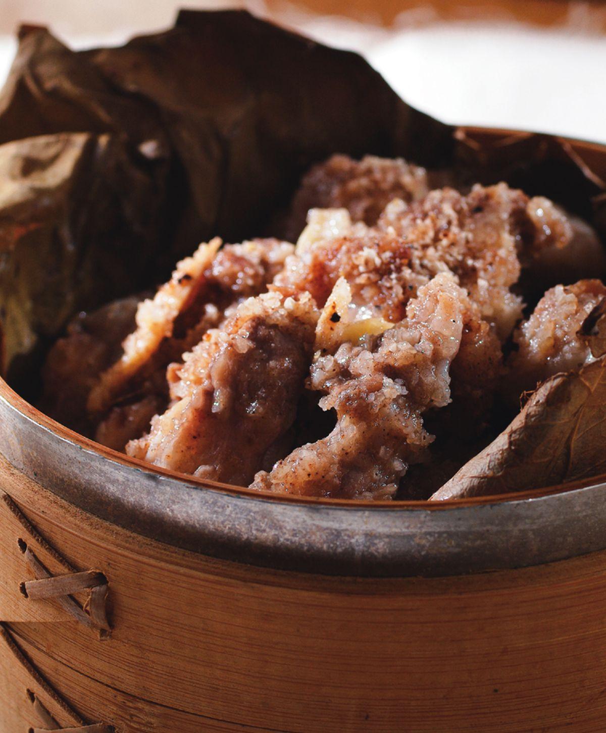食譜:荷葉粉蒸肉(1)