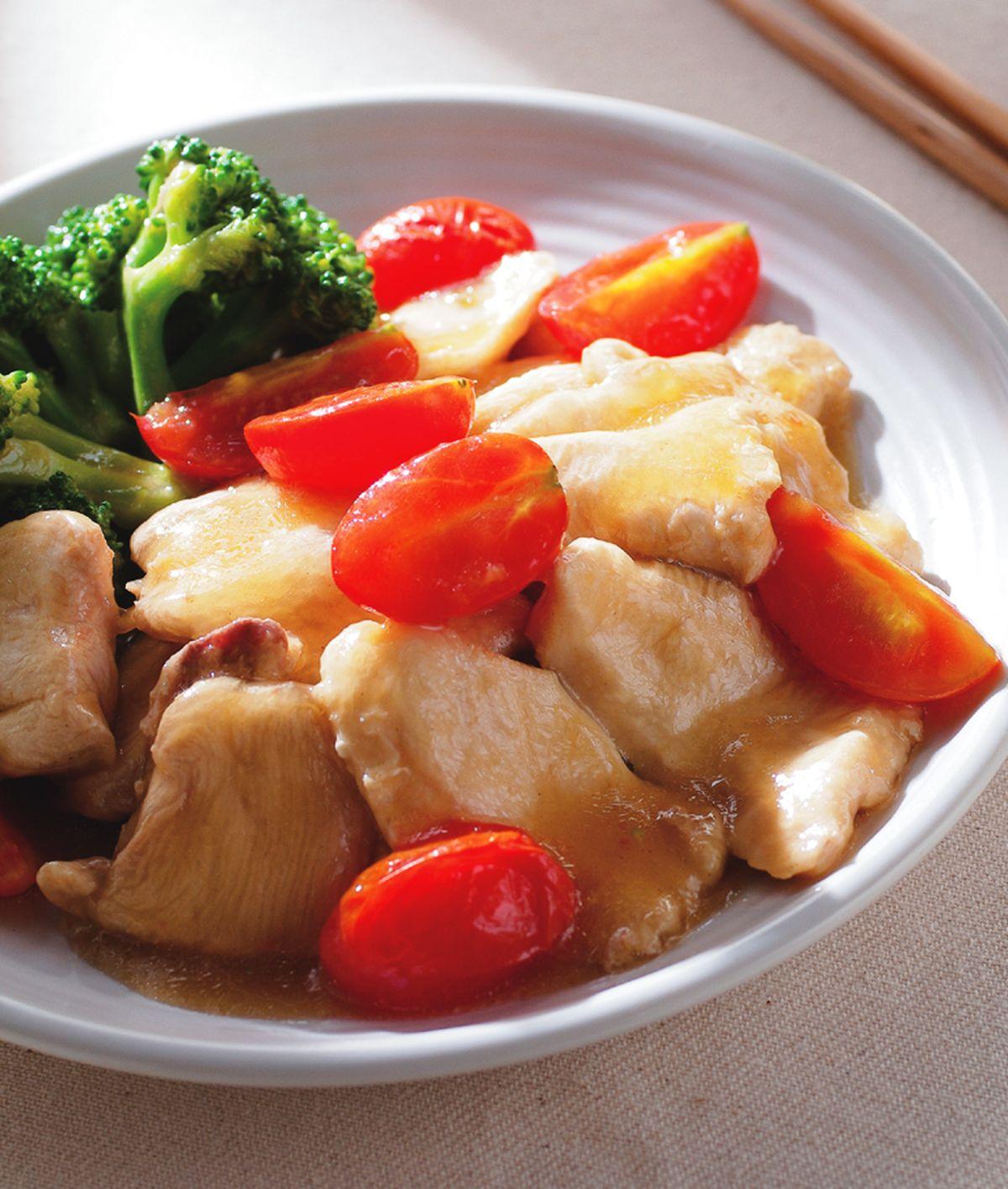 食譜:青花炒嫩雞