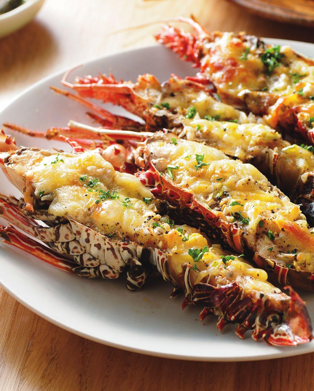 食譜:焗烤奶油小龍蝦
