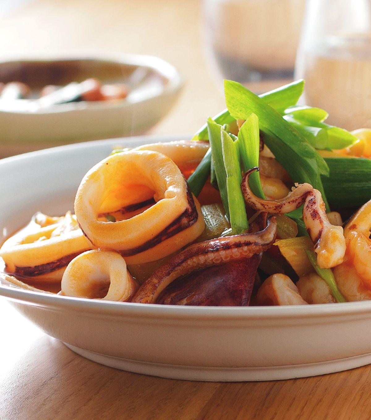食譜:西芹炒雙鮮