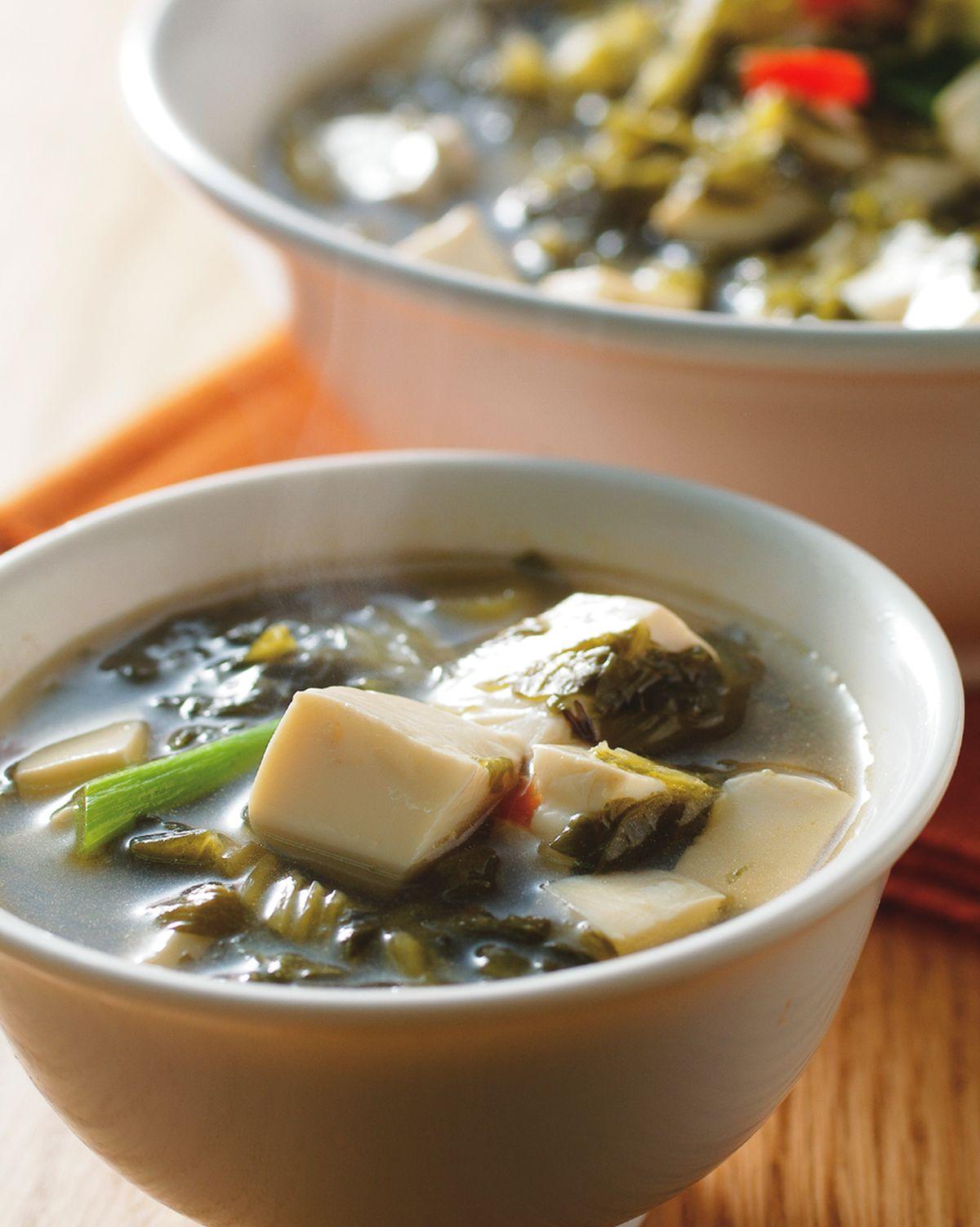 食譜:雪菜豆腐羹