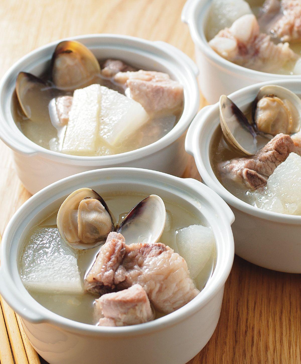 食譜:蛤蜊排骨湯(1)