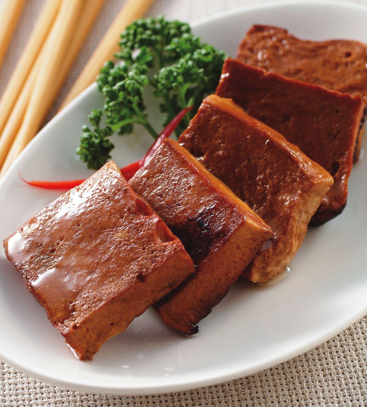 食譜:醃燻百頁豆腐