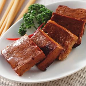 醃燻百頁豆腐