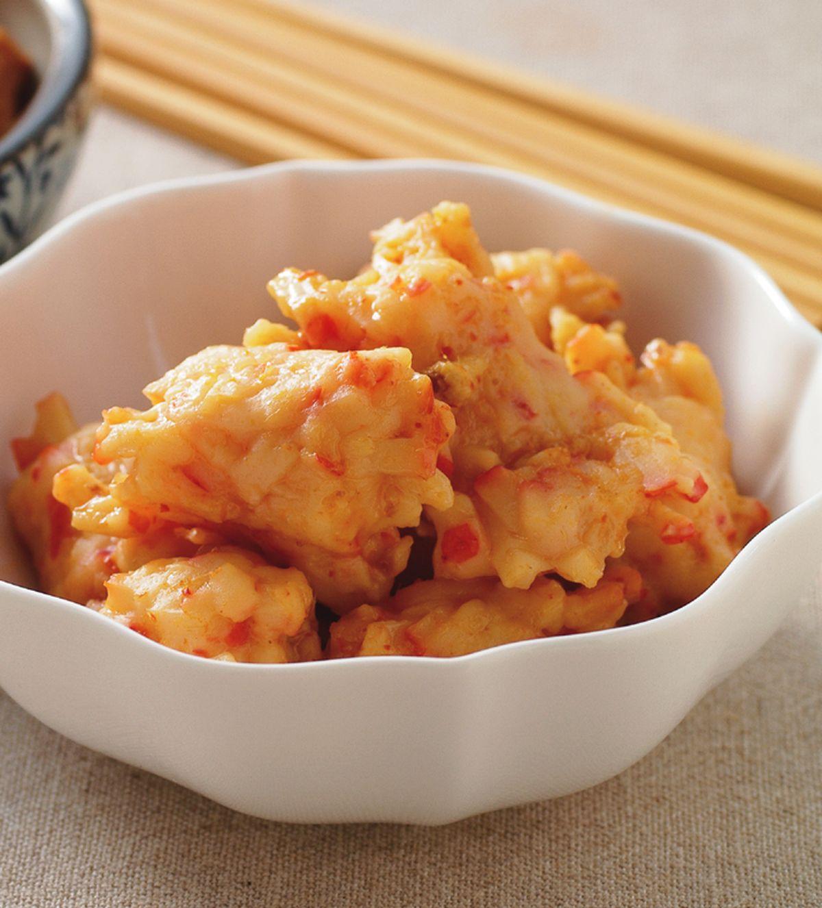 食譜:咖哩蝦丸
