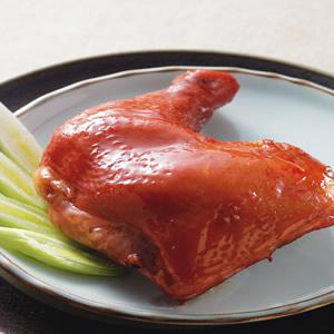 玫瑰油雞腿