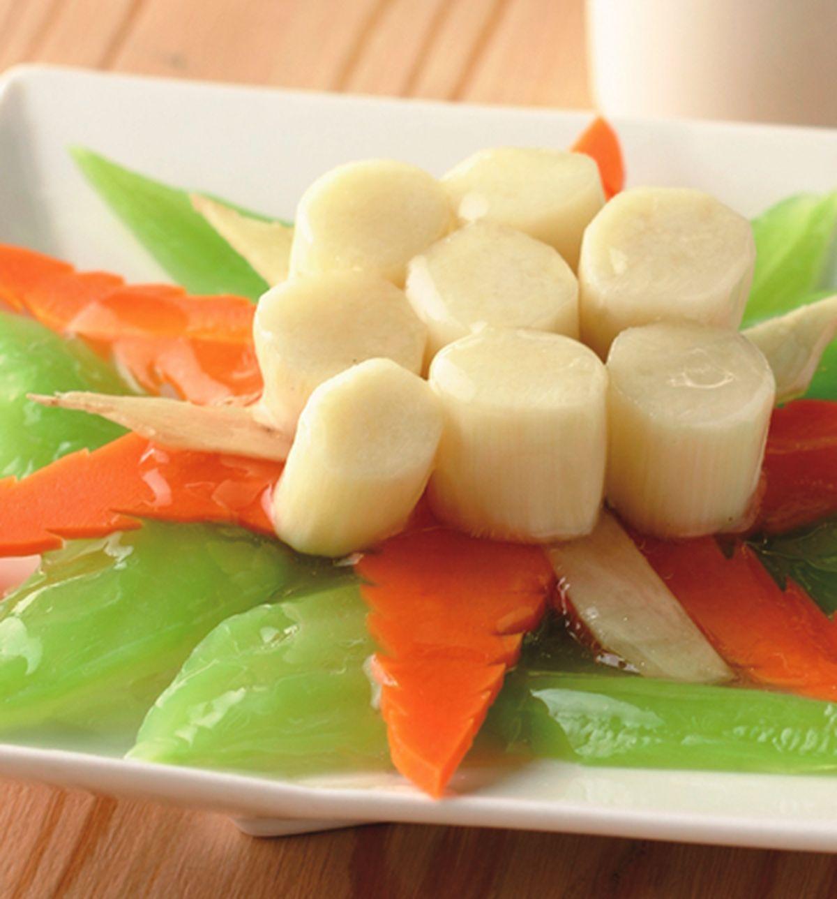 食譜:芥菜干貝