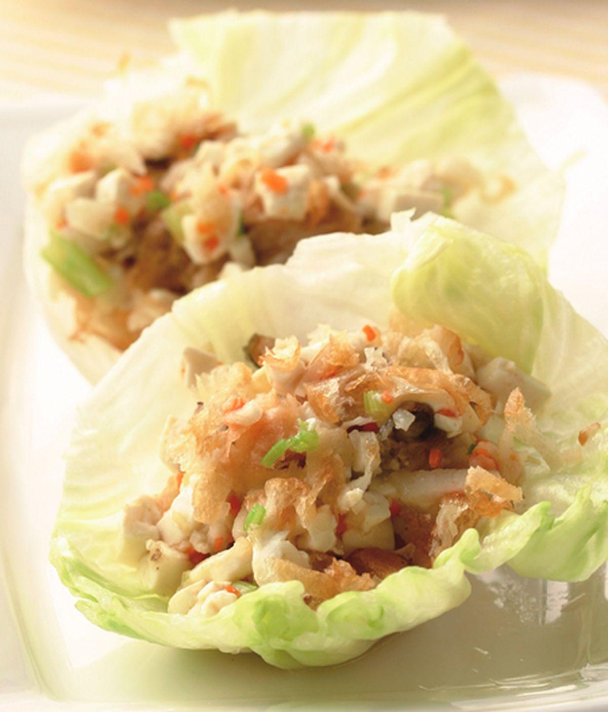 食譜:生菜蝦鬆(2)