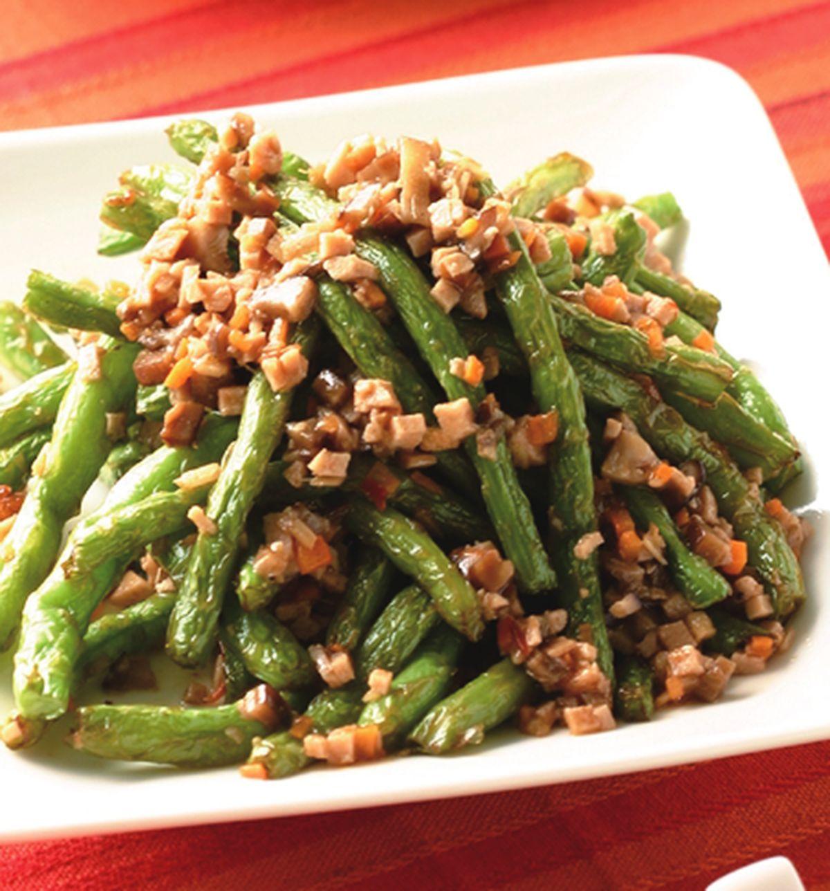食譜:乾扁四季豆(3)