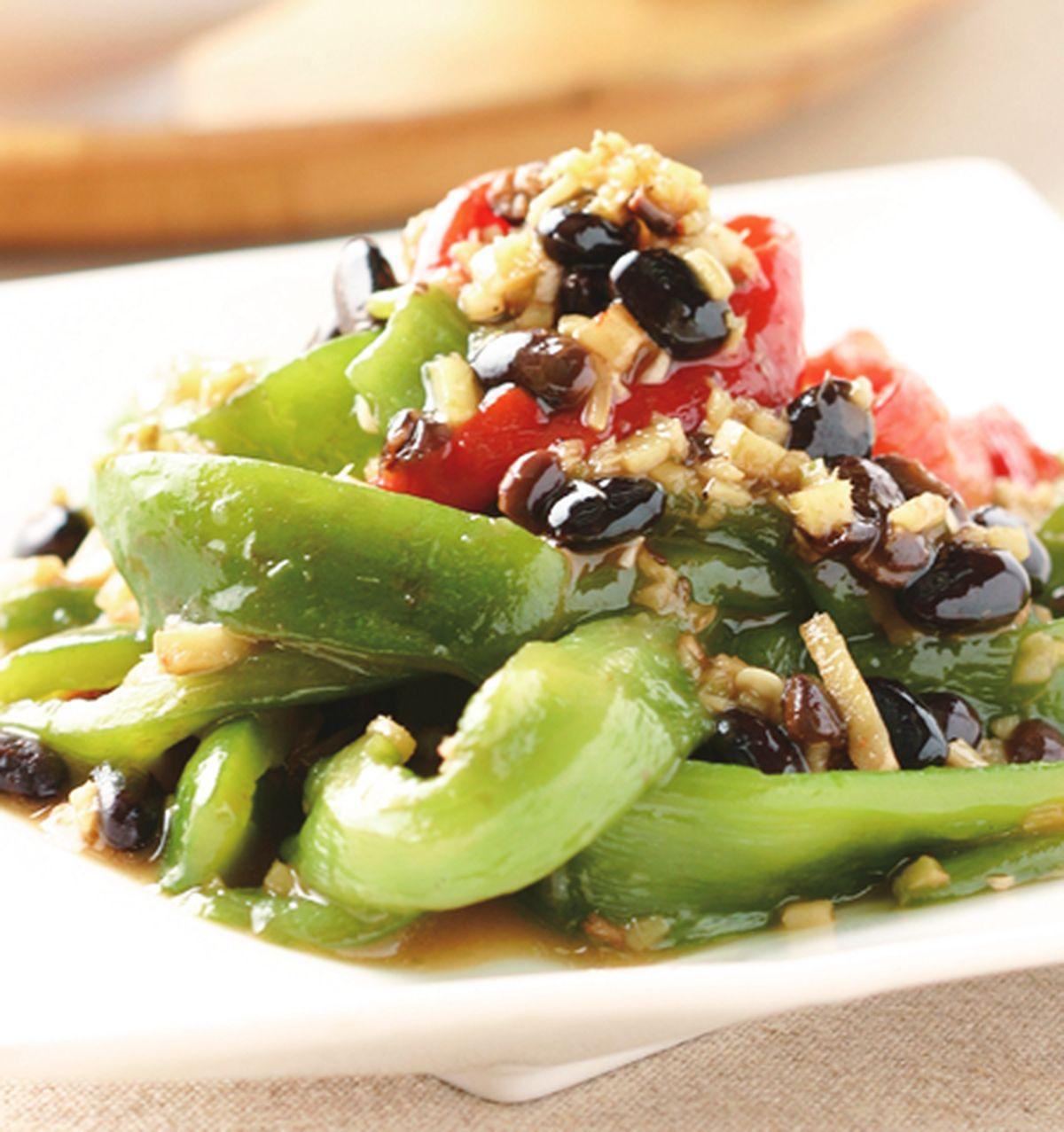 食譜:醬燒青椒