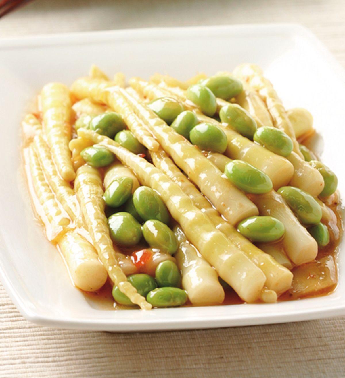 食譜:毛豆劍筍