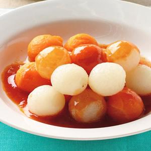 茄汁紅白蘿蔔球