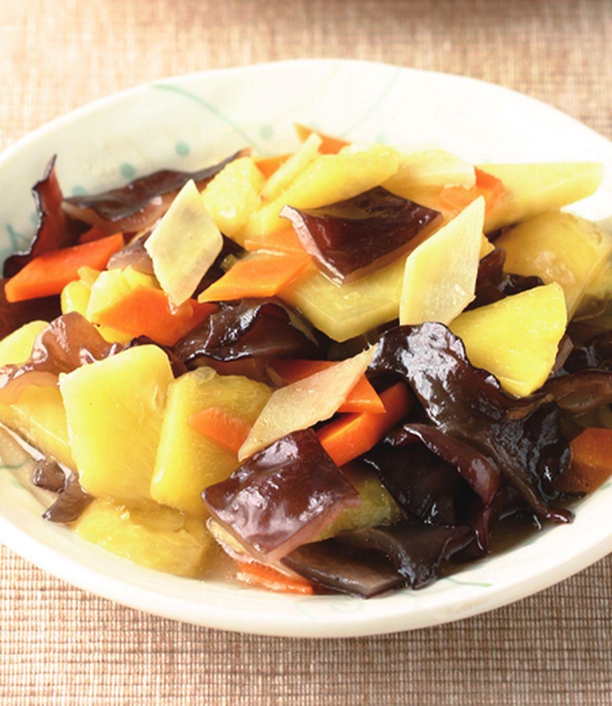 食譜:鳳梨炒木耳(2)