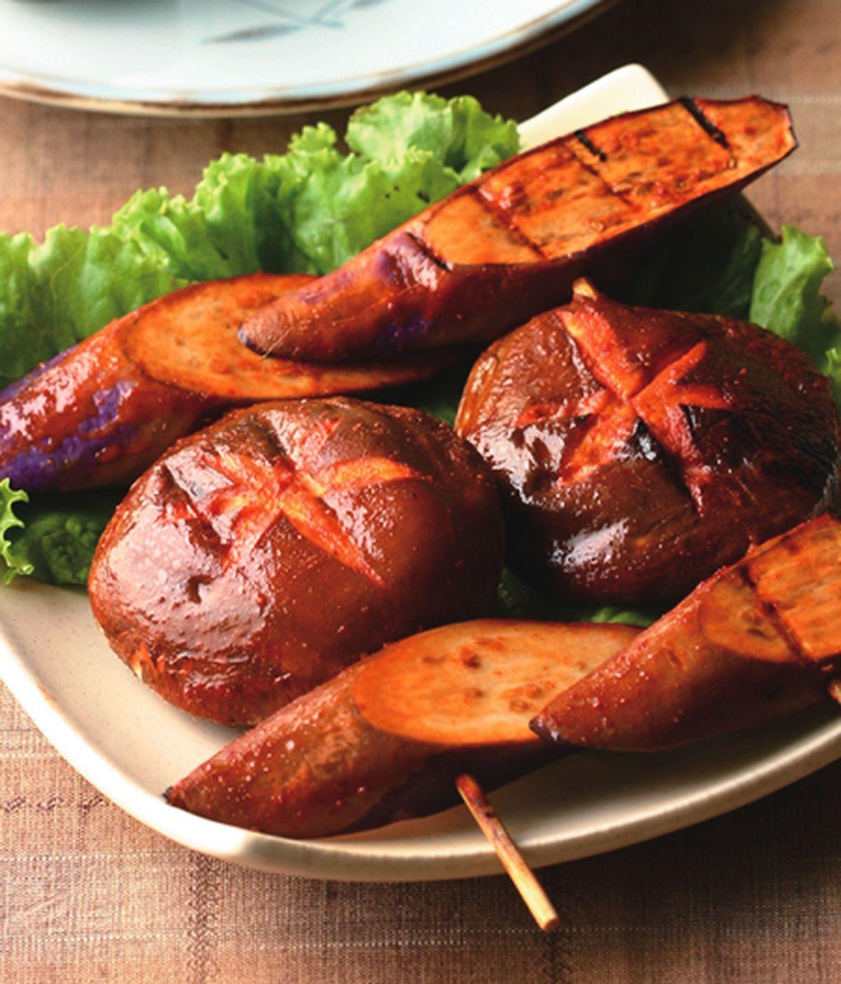 食譜:味噌烤香茄