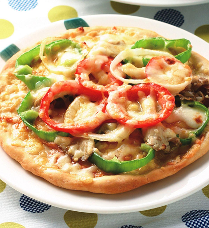 食譜:彩蔬鮮菇比薩