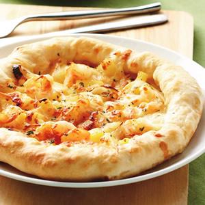 鮮蝦鳳梨芝心比薩