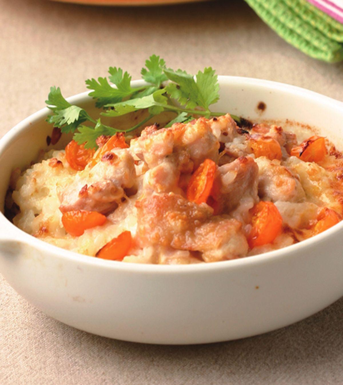 食譜:南瓜雞肉焗飯