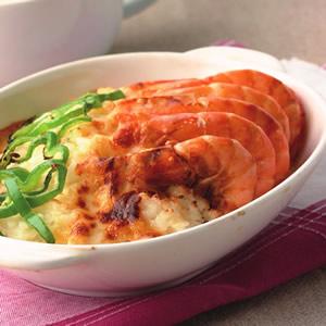 奶油鮮蝦焗飯