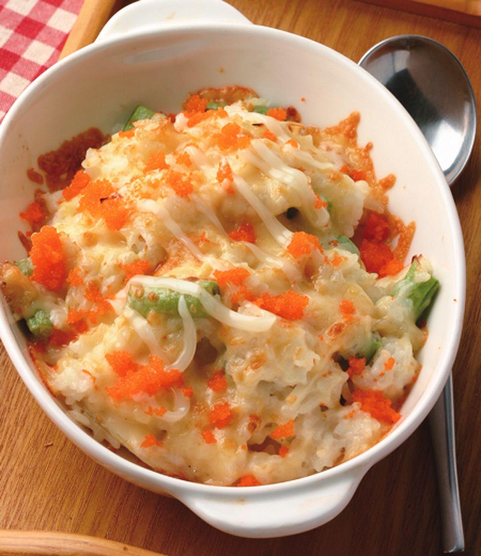 食譜:明太子鯛魚焗飯