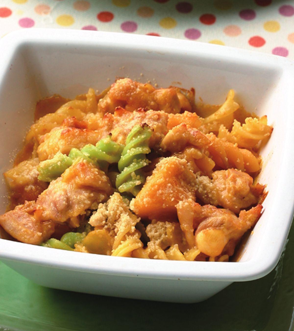 食譜:南瓜雞肉焗螺旋麵