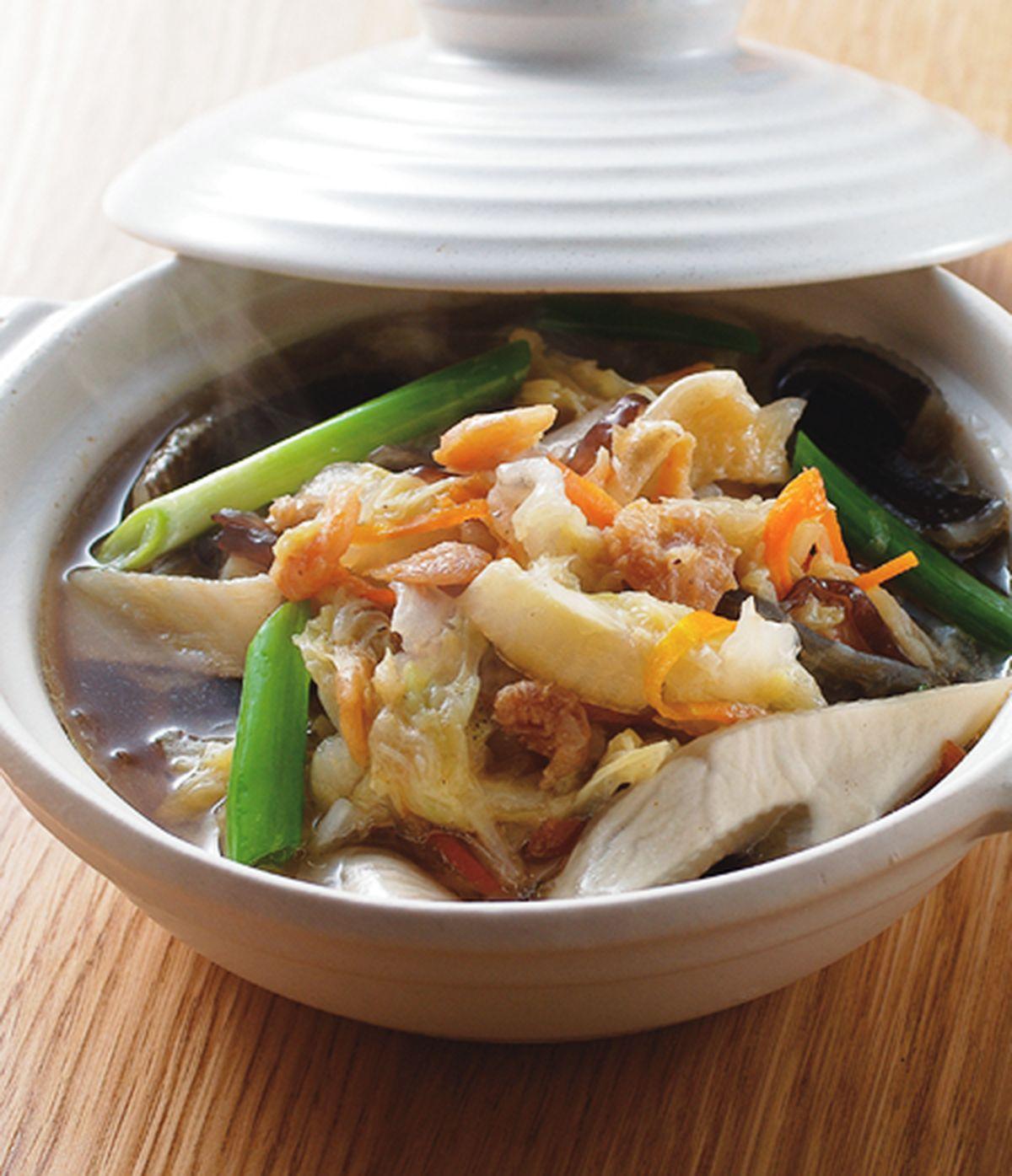 食譜:開陽滷白菜