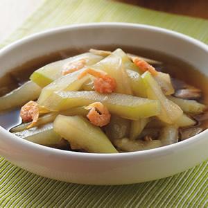 蝦米滷瓠瓜
