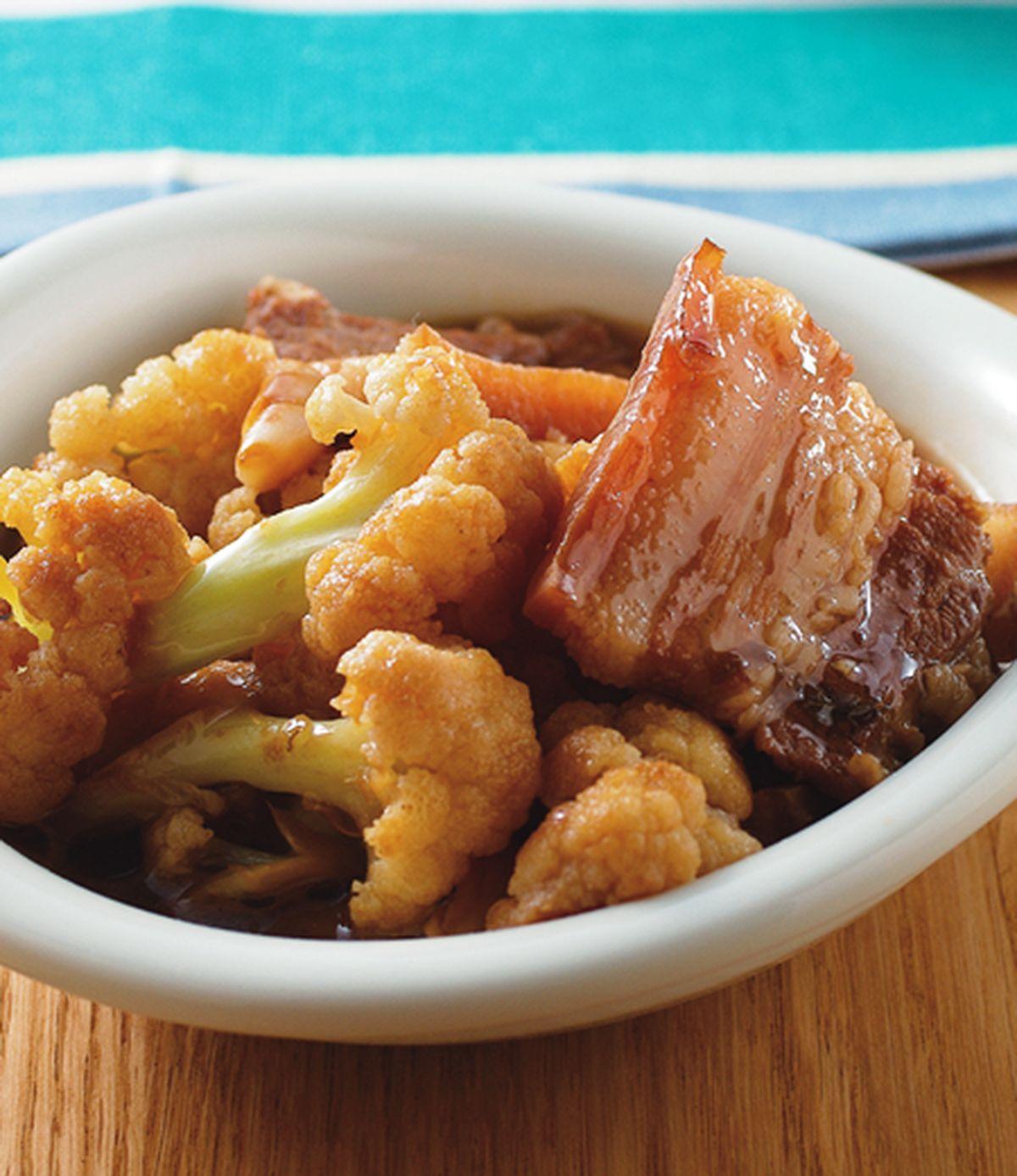食譜:醍醐燒肉滷花椰菜