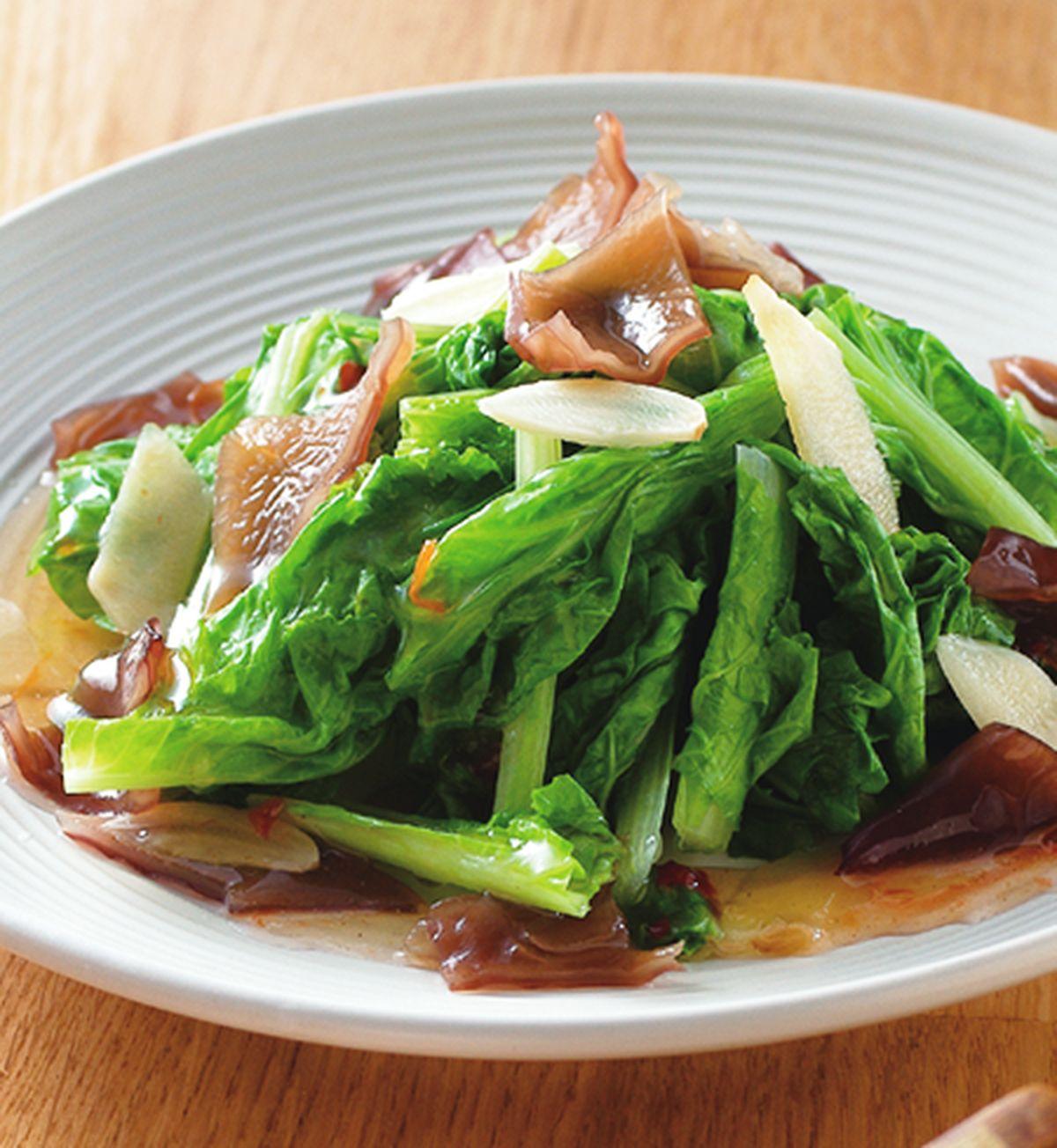 食譜:春捲醬小白菜