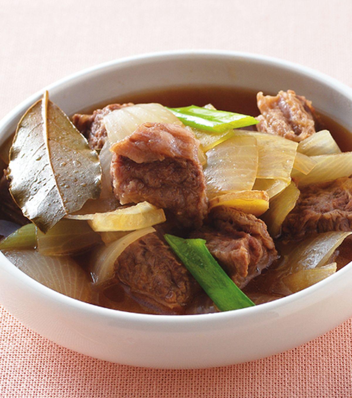 食譜:洋蔥燉牛肉
