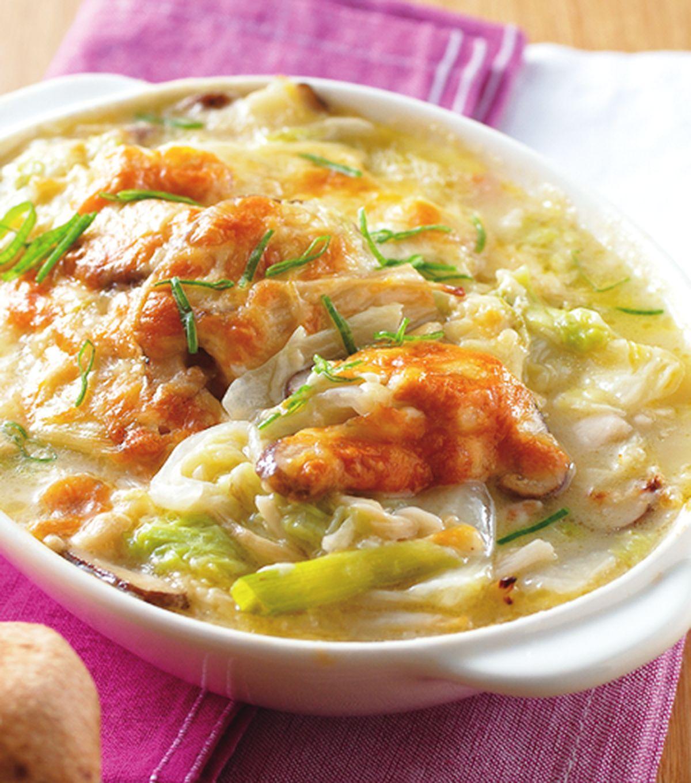 食譜:奶油焗白菜(4)
