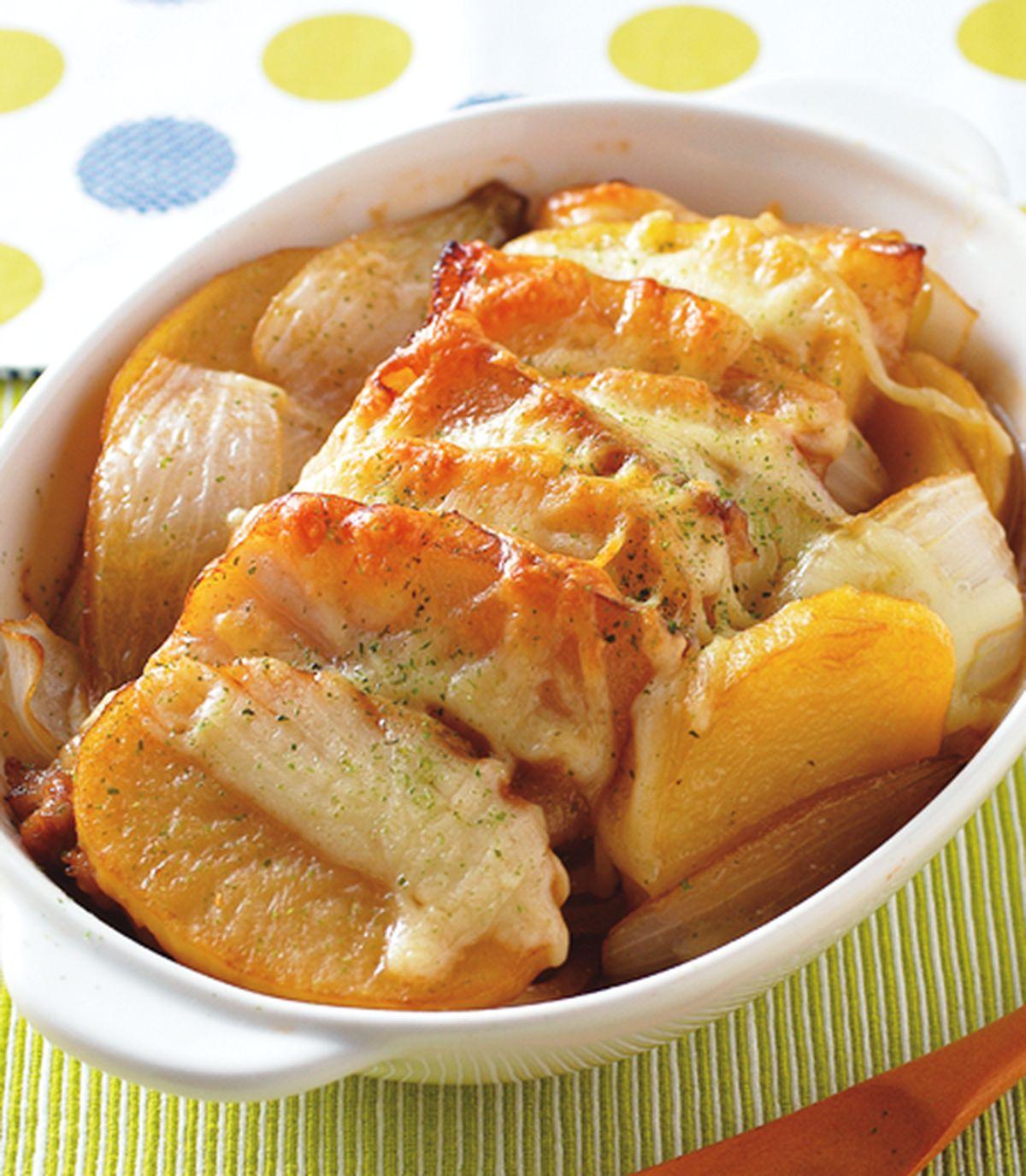 食譜:馬鈴薯焗肉