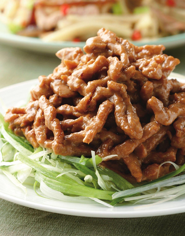 食譜:京醬肉絲(4)