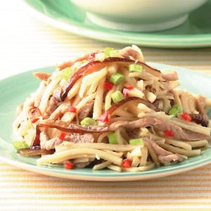 竹筍炒肉絲(3)