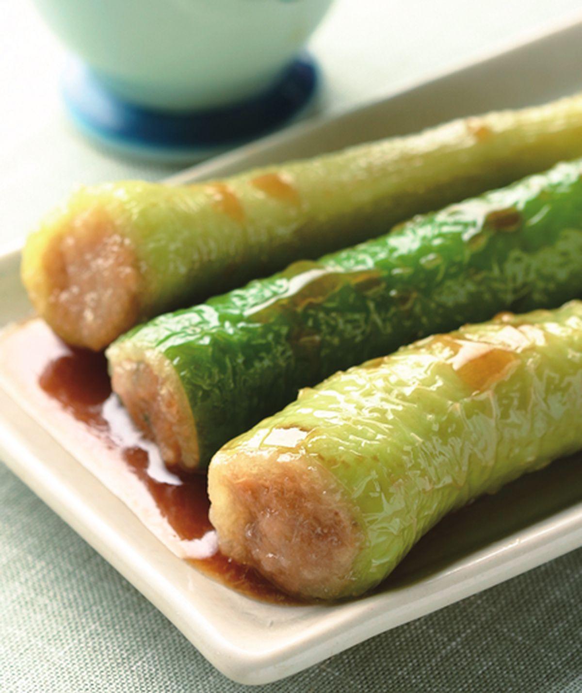 食譜:青辣椒鑲肉(1)