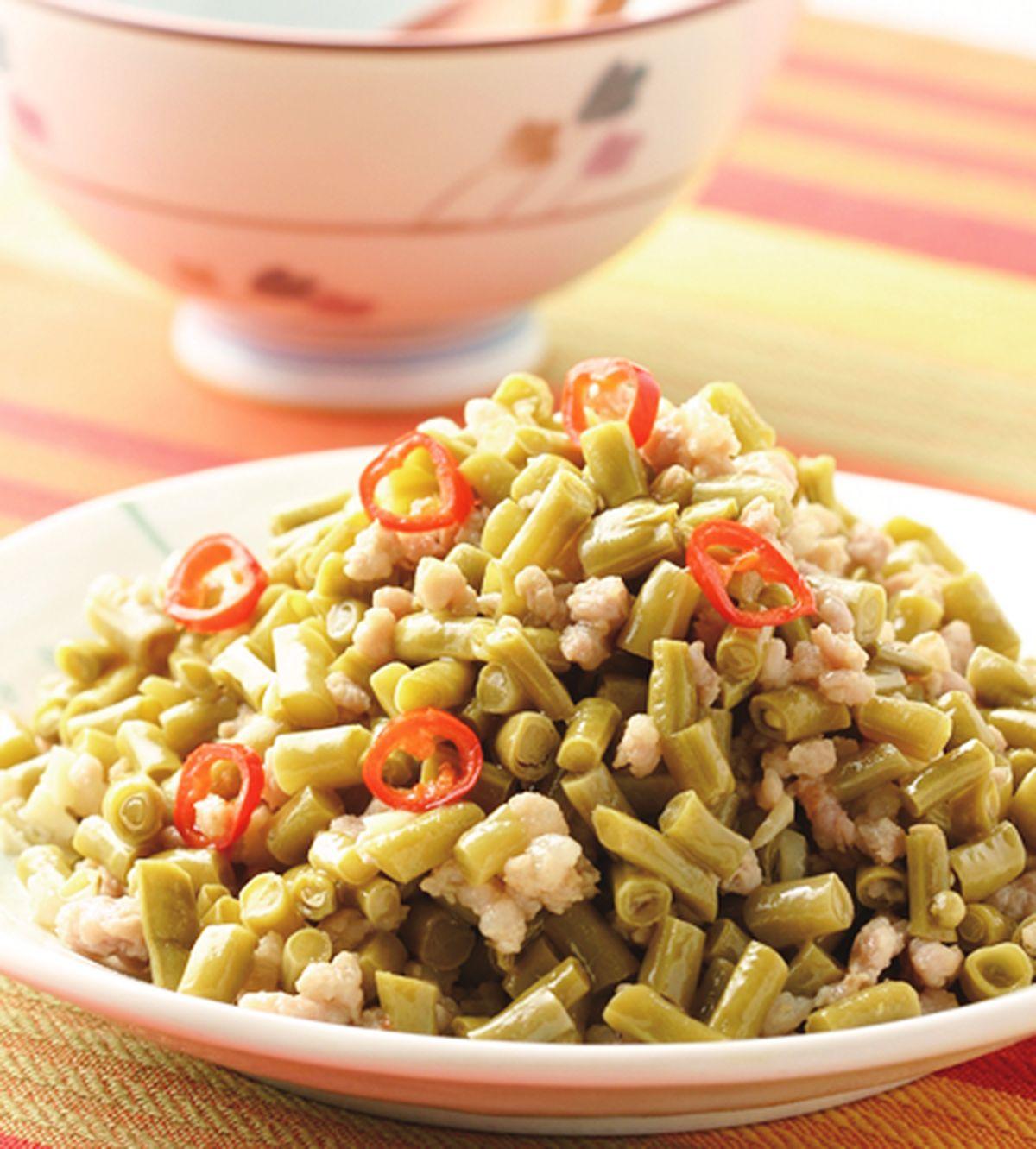 食譜:酸豆炒肉末