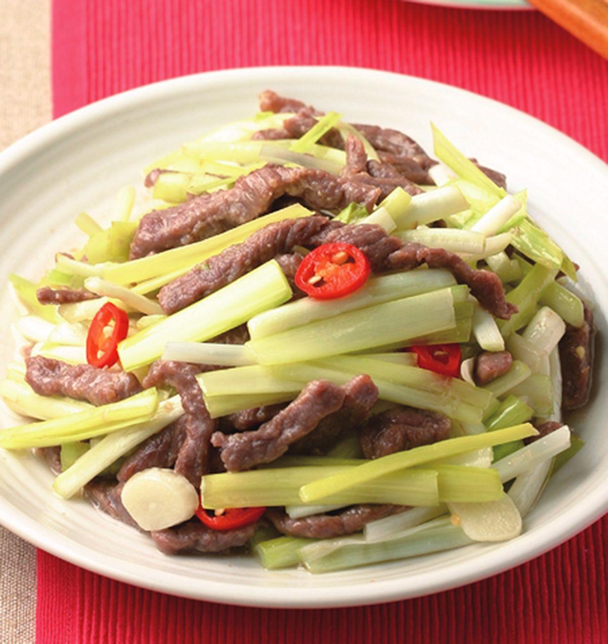 食譜:韭黃牛肉