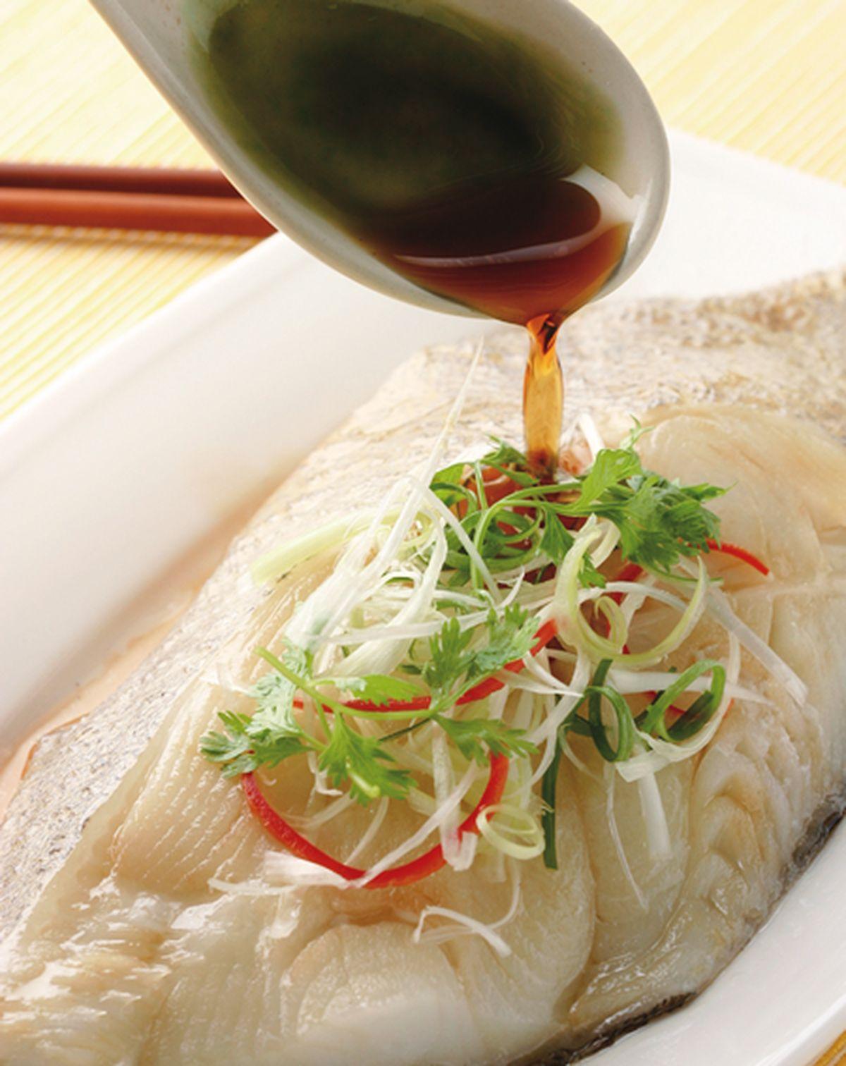 食譜:清蒸鱈魚(3)