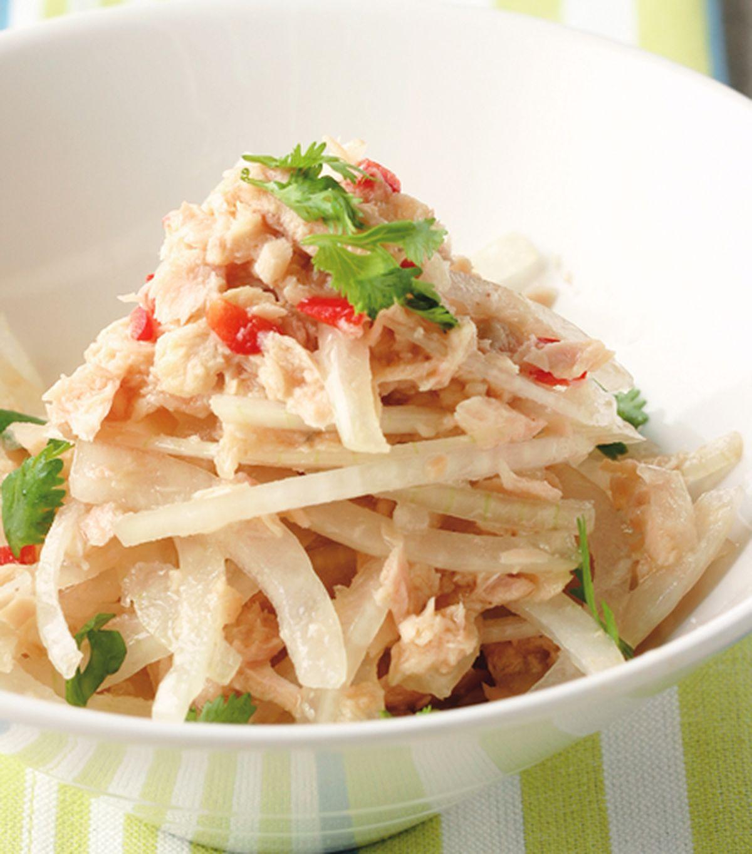 食譜:洋蔥拌鮪魚(2)