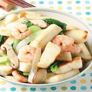 鮮蝦炒饅頭