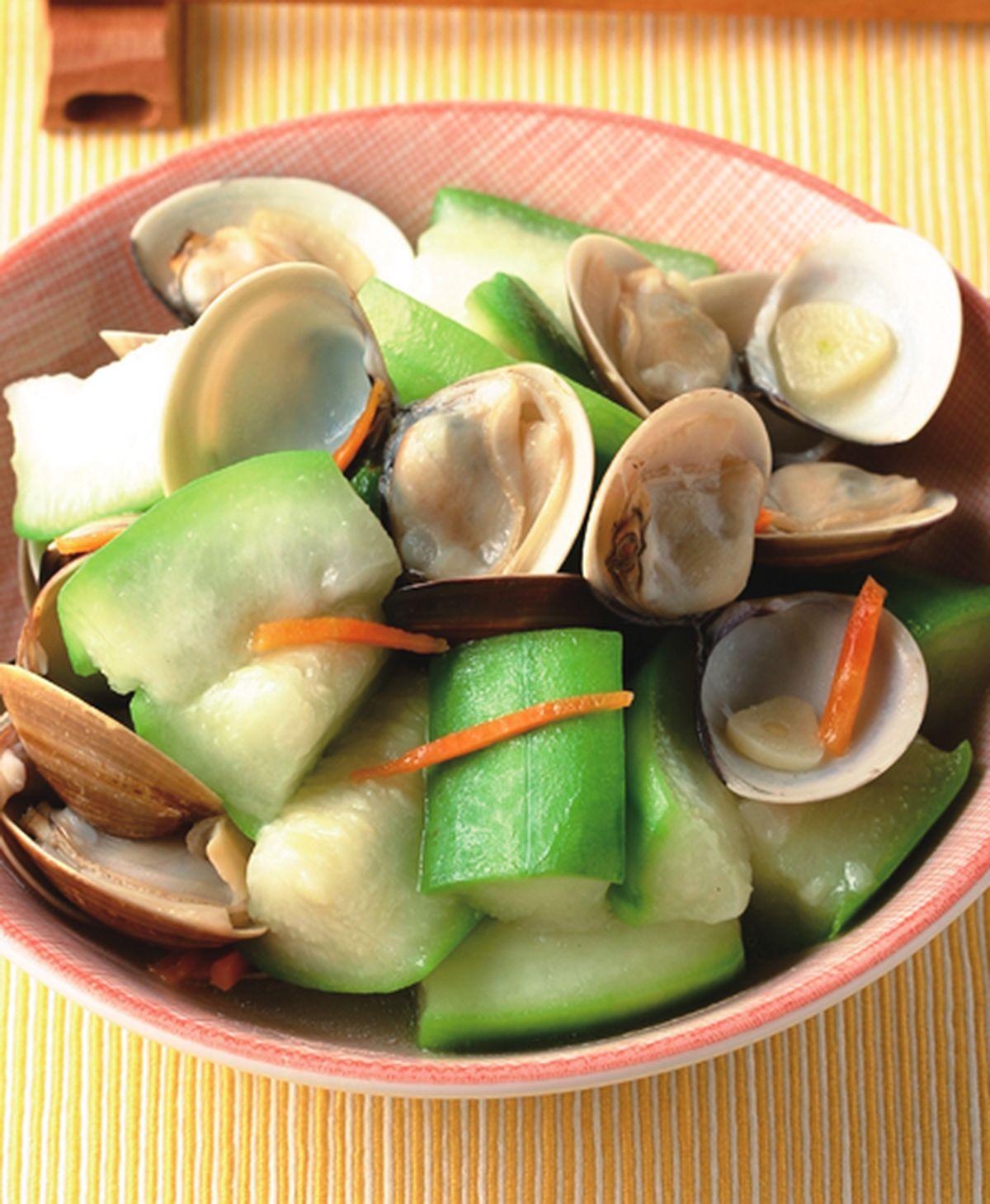 食譜:蛤蜊絲瓜(8)