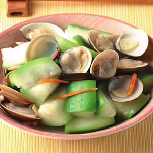蛤蜊絲瓜(8)