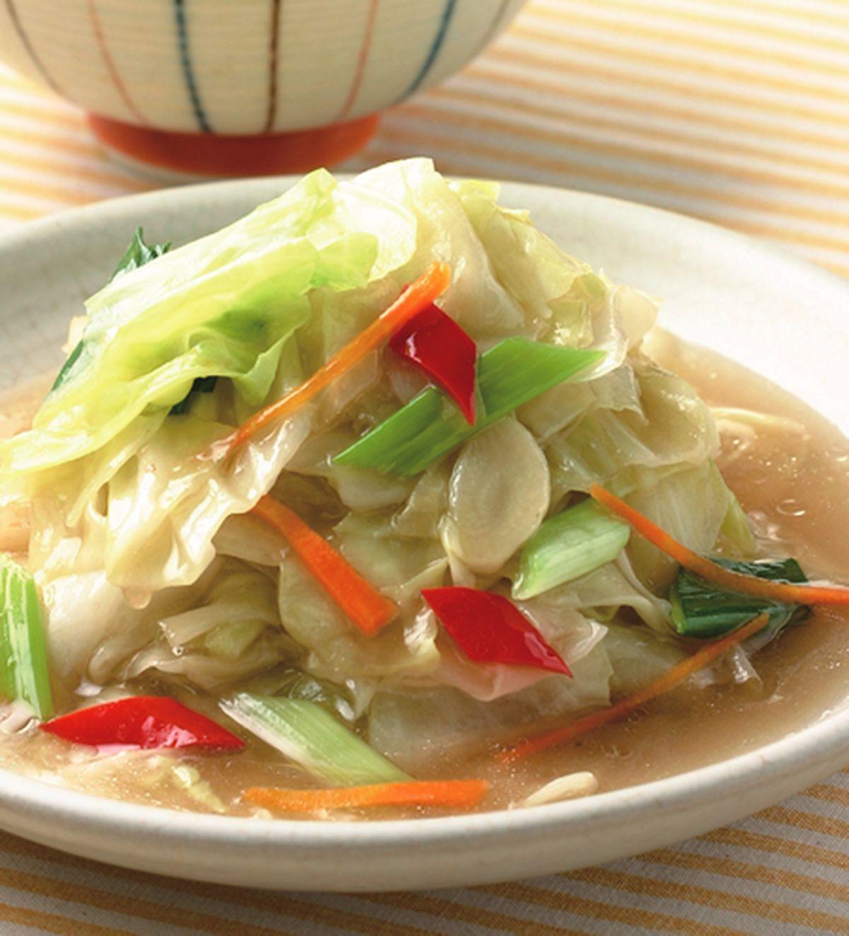 食譜:醋溜高麗菜(1)
