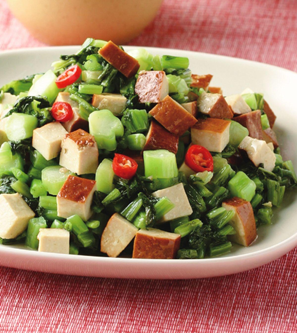 食譜:雪菜干丁