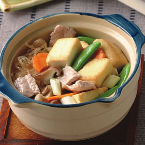 豆腐粉絲煲