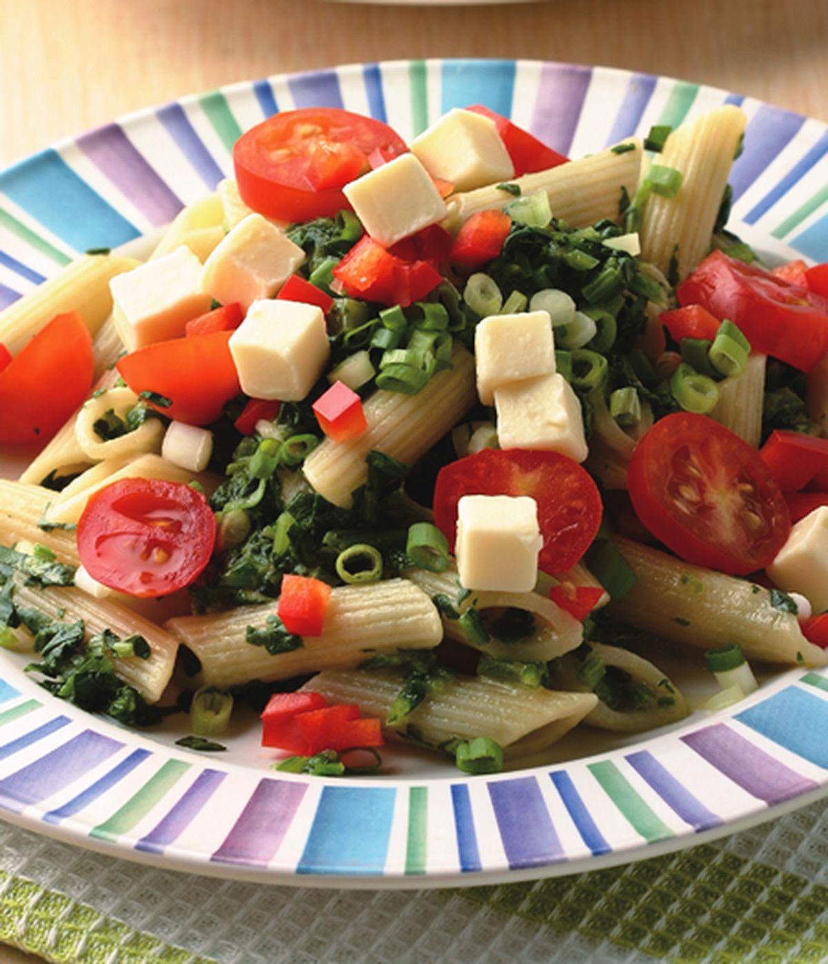 食譜:菠菜涼麵