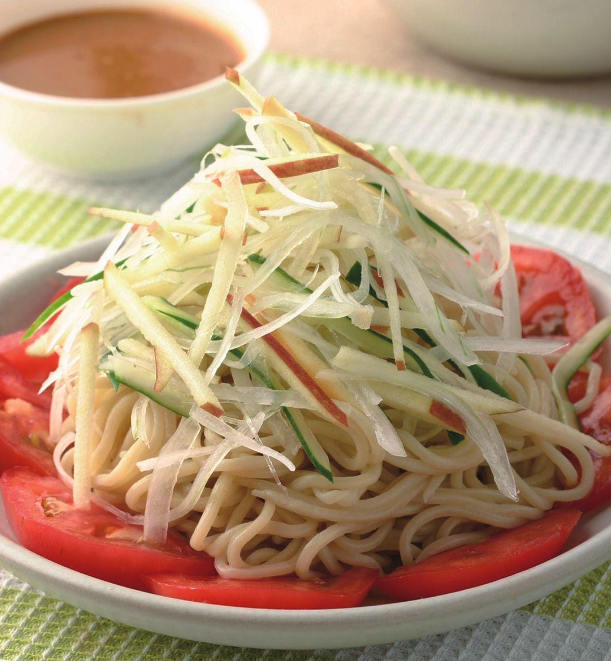 食譜:芝麻醬拌冷麵