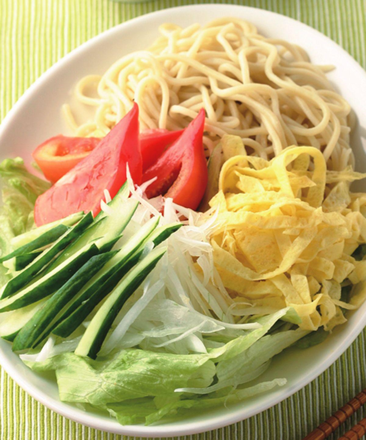 食譜:沙拉冷麵
