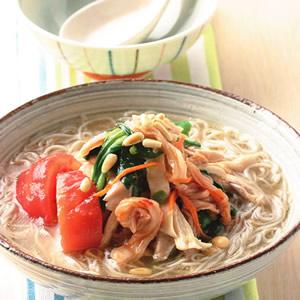 韓式雞絲湯麵